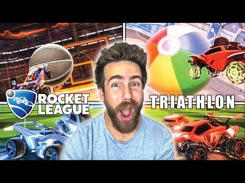 The Rocket League Triathlon is AWESOME!