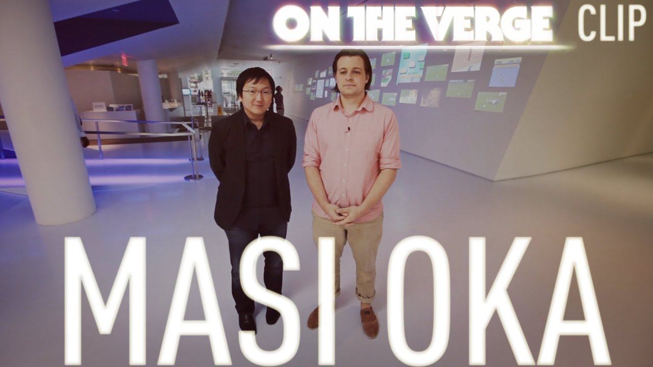Paul and Masi Oka visit the Museum of the Moving Image thumbnail