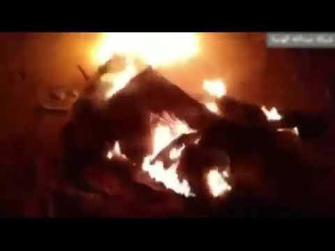 بالفيديو .. الجيش اليمني يسقط طائرة مسيرة جنوب مأرب