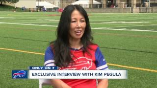 Exclusive one on one interview with Bills owner Kim Pegula