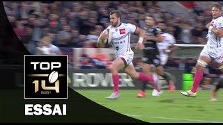 TOP 14 ‐ Essai Adam ASHLEY-COOPER (UBB) – Bordeaux-Bègles-Brive – J8 – Saison 2016/2017