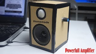 how-to-make-a-simple-amplifier-from-cardboard-at-home
