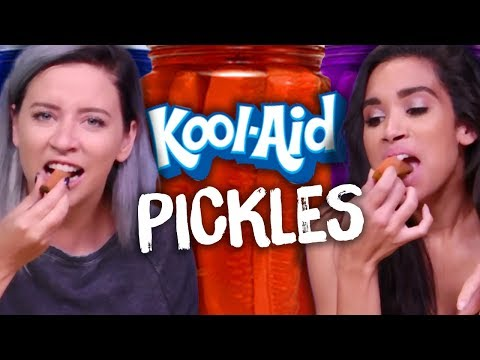 Trying Kool-Aid Pickles?!? (Cheat Day)