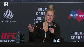 """UFC Fight Night Singapore: Holly Holm: """"I Always Want to Be an Evolving Fighter"""""""
