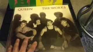 Queen vinyl cd  collection
