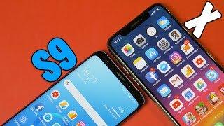 iPhone X vs. Galaxy S9 - te melyiket választanád?