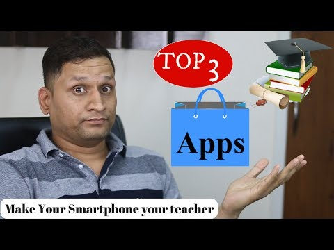 Make your Smartphone a Smart Teacher | Top 3 Learning Apps Review