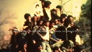 preview picture of video 'Jubilation in the streets of Shiraz on the day that Khomeini returned to Iran, 1st February 1979'