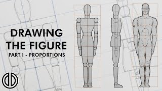 Drawing The Human Figure! - Proportions - Tutorial [PART I]