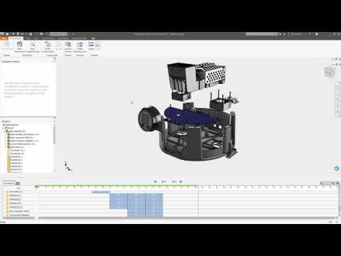 Autodesk Inventor 2017 - Exploded Views and Presentation