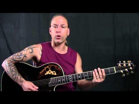 Advanced Guitar Strumming Lesson - Up Strumming Steve Stine