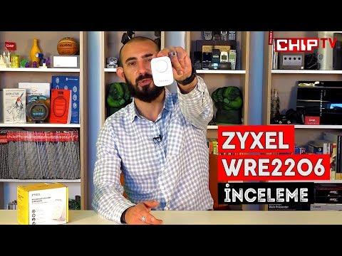 ZYXEL WRE2206 İnceleme - Kablosuz Ağ Genişletici