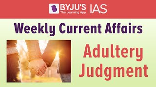 Explained: Adultery Judgment.