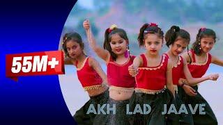 Akh Lad Jaave With Lyrics Loveyatri Aayush S Warina H Badshah Dance Cover Kids Rewa Sidhi