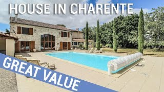 6 Bedrooms Stone House, Enclosed Garden With Heated Swimming Pool Charente- Mansle Ref: 103486EED16