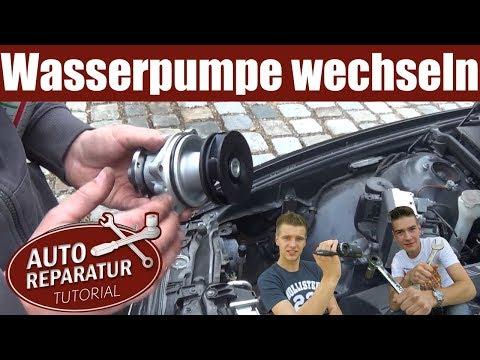 Wasserpumpe wechseln |  erneuern tauschen | BMW 6 Zylinder | DIY Tutorial