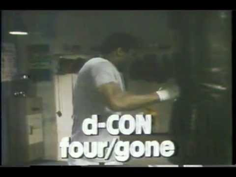 d-CON Commercial (1979) (Television Commercial)