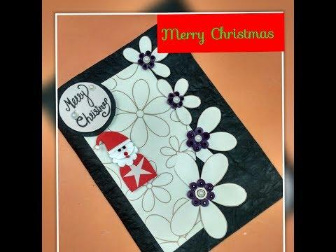 Diy christmas card handmadechristmas tree craftgreeting cards for diy christmas card handmadechristmas tree craftgreeting cards for christmassanta claus card m4hsunfo