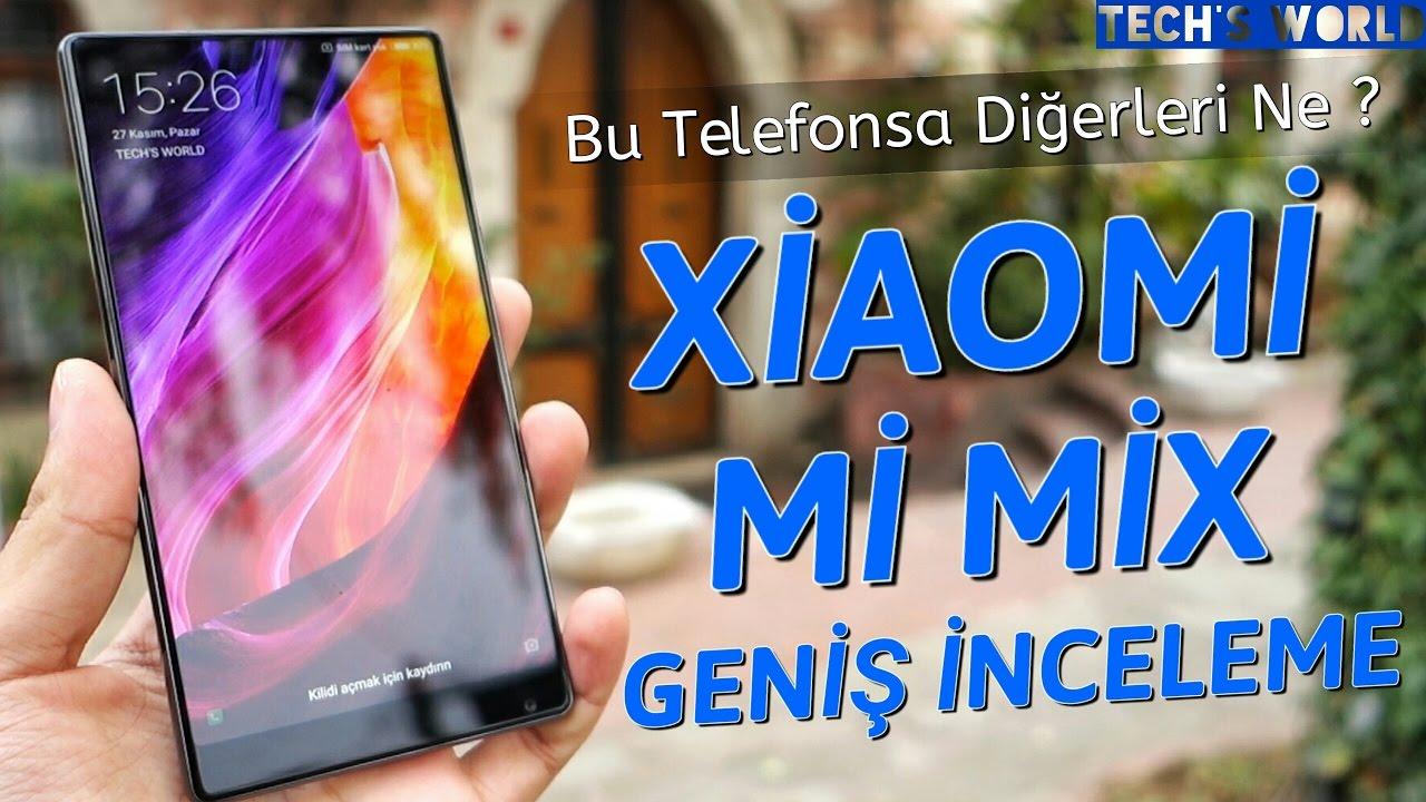Xiaomi Mi Mix Geniş İnceleme – Bu Telefonsa Diğerleri Ne ?