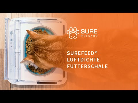 Die Luftdichte SureFeed Futterschale