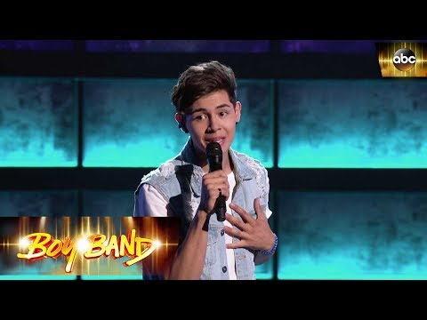 Mikey Jimenez Audition - Because of You | Boy Band