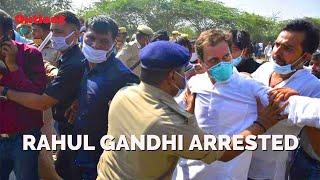 Rahul Gandhi 'Arrested' On Way To Hathras
