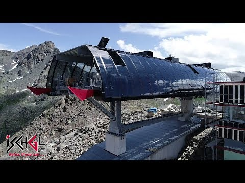 Bauarbeiten Velilleckbahn F1 und Visnitzbahn N2, August 2019, Ischgl-Samnaun
