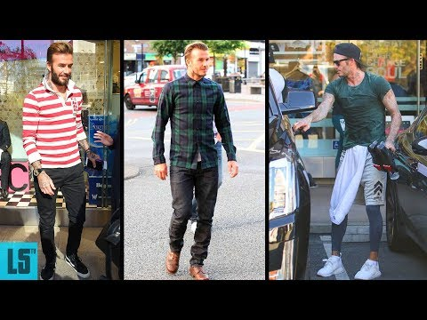 David Beckham's Street Style, Casual Style And Hairstyle Mp3