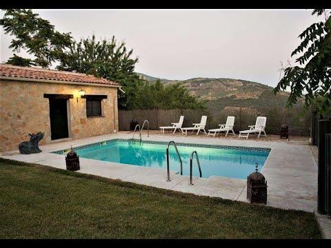 Cortijo el Canjilón en Montefrío, Granada. Cortijo con piscina y sauna. Fotoalquiler-canjilon