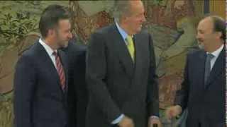 preview picture of video 'S.M. el Rey recibe al ministro de Exteriores de Panamá'