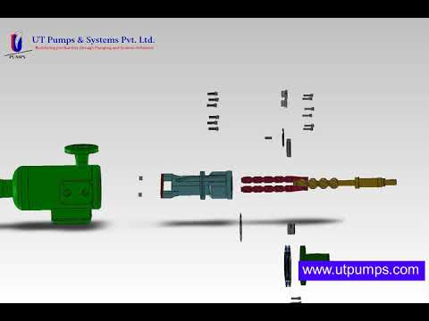 Triple Screw Pump Model-PDS