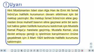 Eğitim Vadisi TYT Tarih 19.Föy Uygarlaşma Yolunda Yapılan Çalışmalar (Atatürk İnkılapları 2) Konu Anlatım Videoları