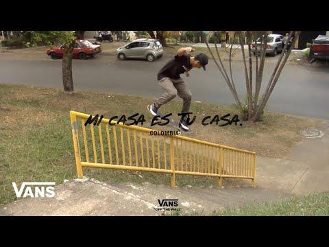 Image for video Mi Casa Es Tu Casa - Episode 4: Colombia   Skate   VANS