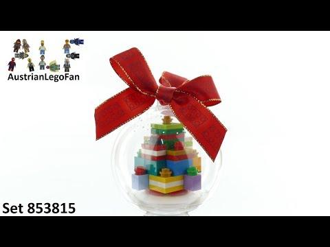 Vidéo LEGO Saisonnier 853815 : Cadeaux décoratifs pour Noël