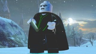 LEGO Dimensions - Lord Voldemort Free Roam Gameplay (Harry Potter World)