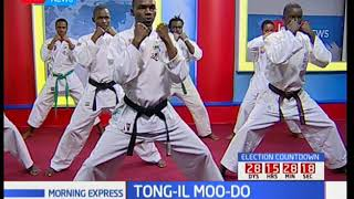 Martial arts on Morning Express