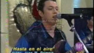 LOS EXTRAÑOS  *HASTA EN EL AIRE* EN VIVO