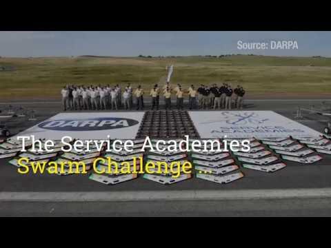 GTRI supports DARPA Service Academies Swarm Challenge