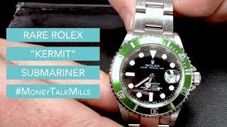"""Rare Rolex """"Kermit"""" Submariner"""