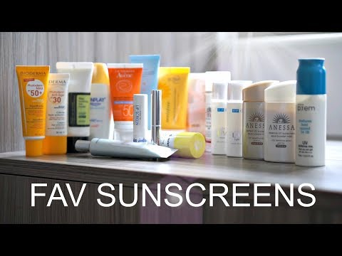 Fave Asian & Euro Sunscreens | Safe Chemical UV Filters