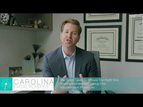 Ensuring The Right Chin Implant Size And Shape For Chin Augmentation | Carolina Facial Plastics