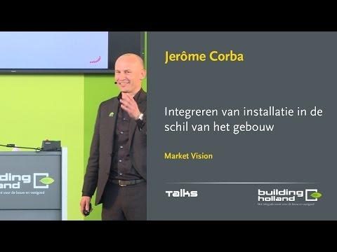 Integreren van installatie in de schil van het gebouw  - Jerome Corba