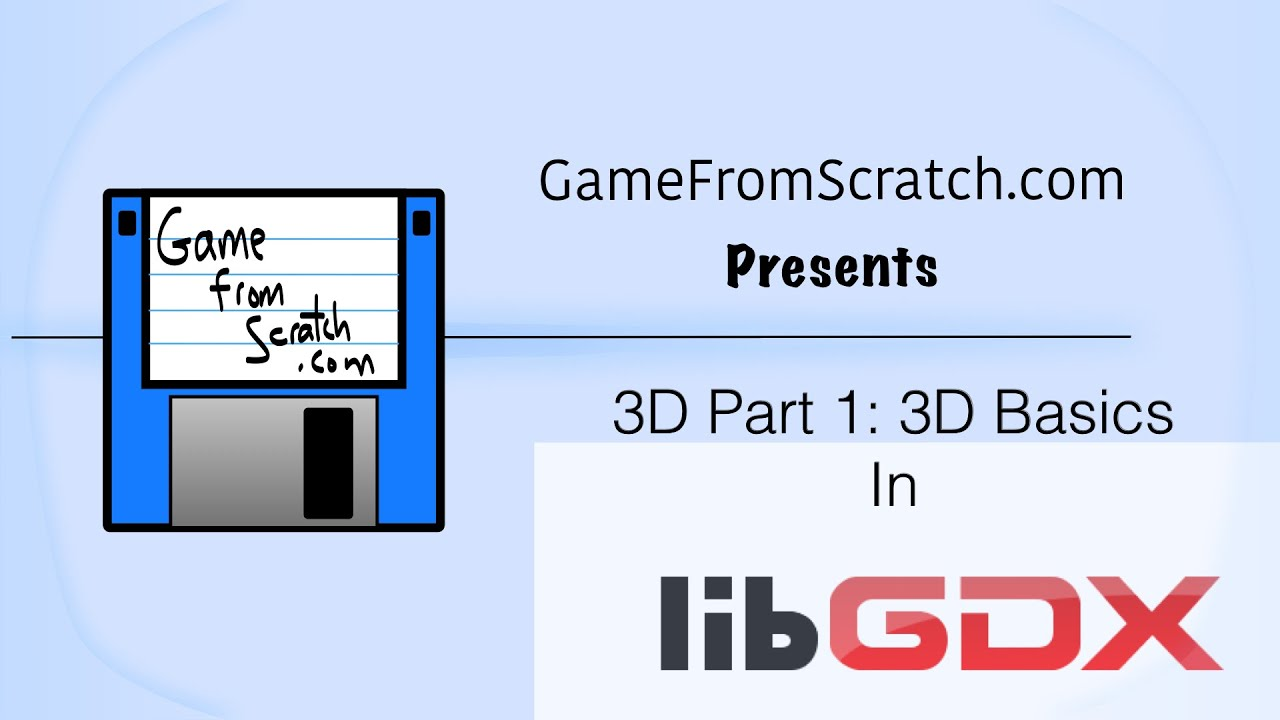 3D Programming tutorial in LibGDX Part 1