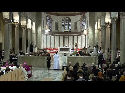 Messe des Cendres à Rome