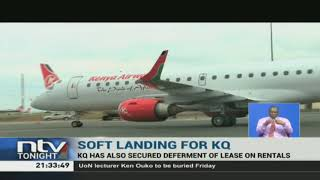 Kenya Airways, has secured moratorium on loan repayment for a