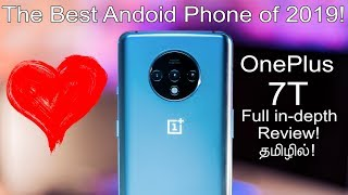 The Best Android Phone of 2019! - OnePlus 7T Full In-Depth Review in Tamil!