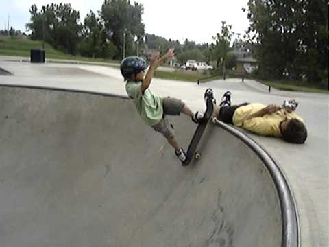 Fly-out At Highland Hills Skate-park Over A Person