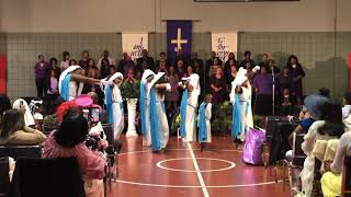 """They Didn't Know"" by Kurt Carr 1st G Dance ministry"