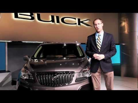 2013 Buick Encore First Look - 2012 Detroit Autoshow