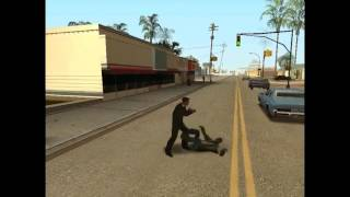 Gta San Andreas New Ped Fiight Style 2016 Mod Gameplay+Download Link